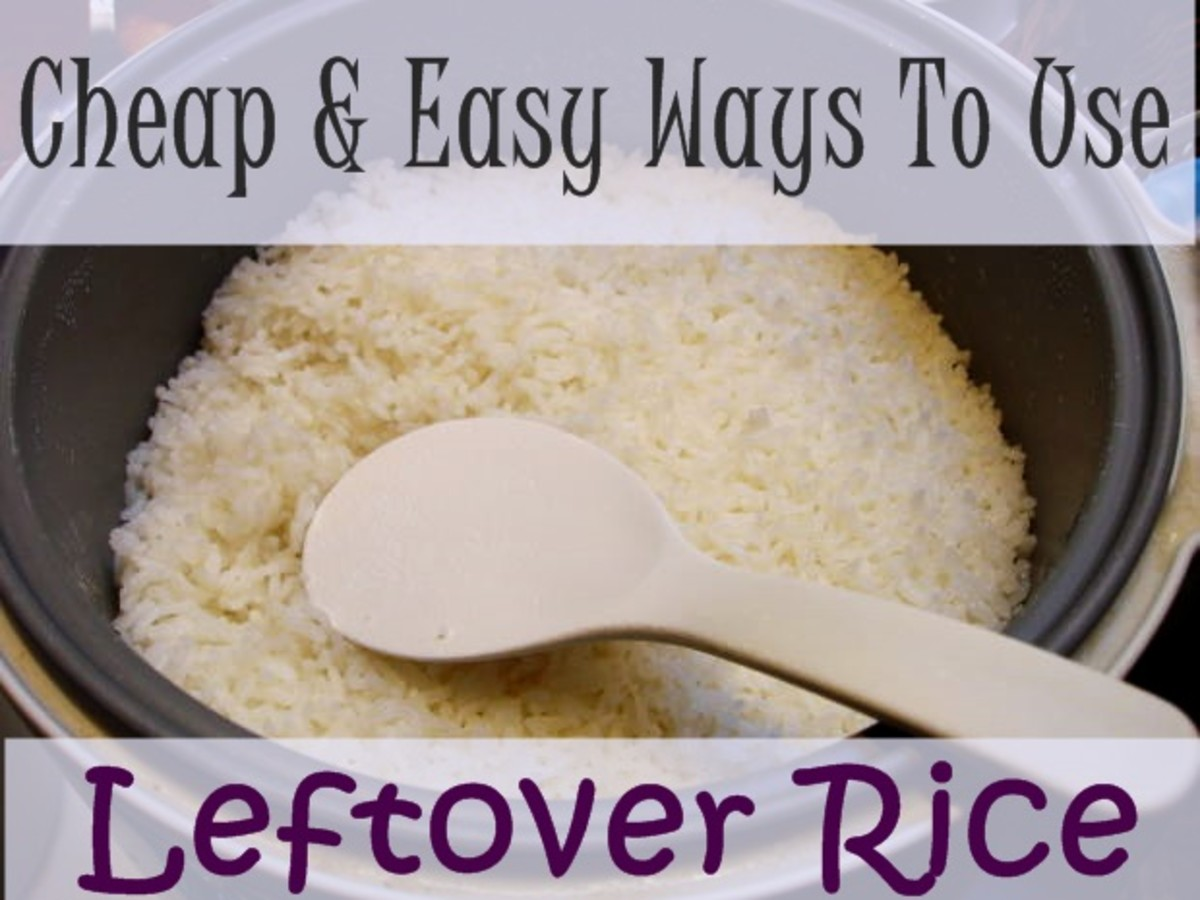 You will love this great variety of main, side, and dessert recipes. You'll never throw out your leftover rice again!