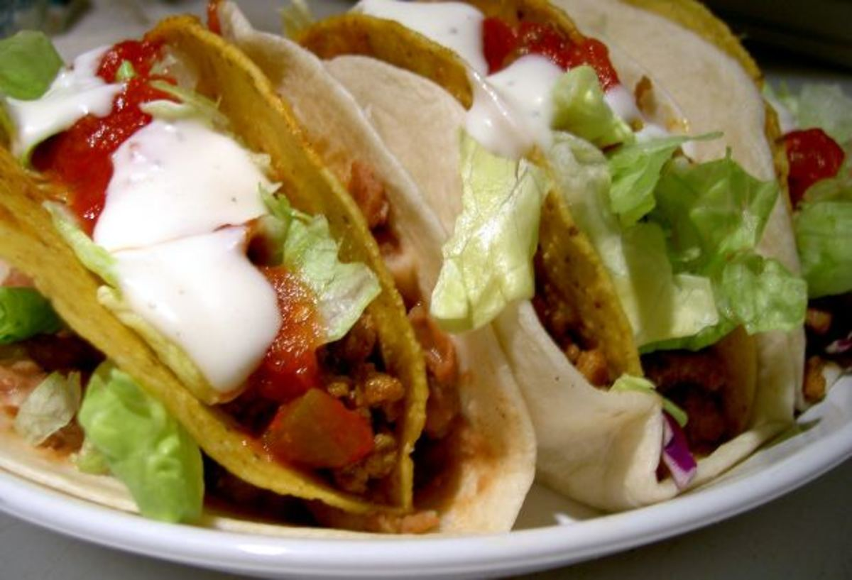You won't be able to taste the rice mixed in with your taco meat.