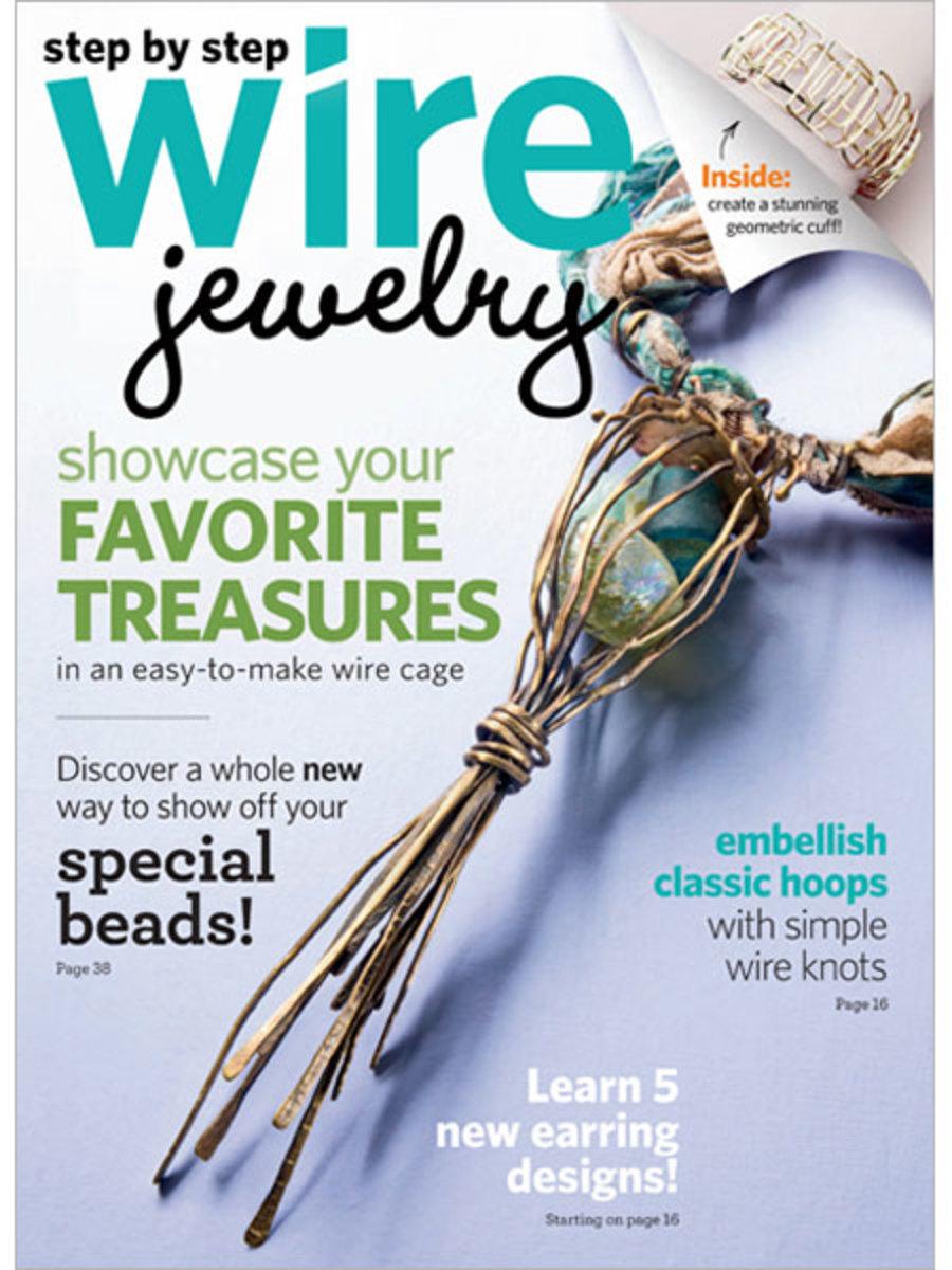 Step by Step Wire Jewelry Magazine 2012: February/March 2012