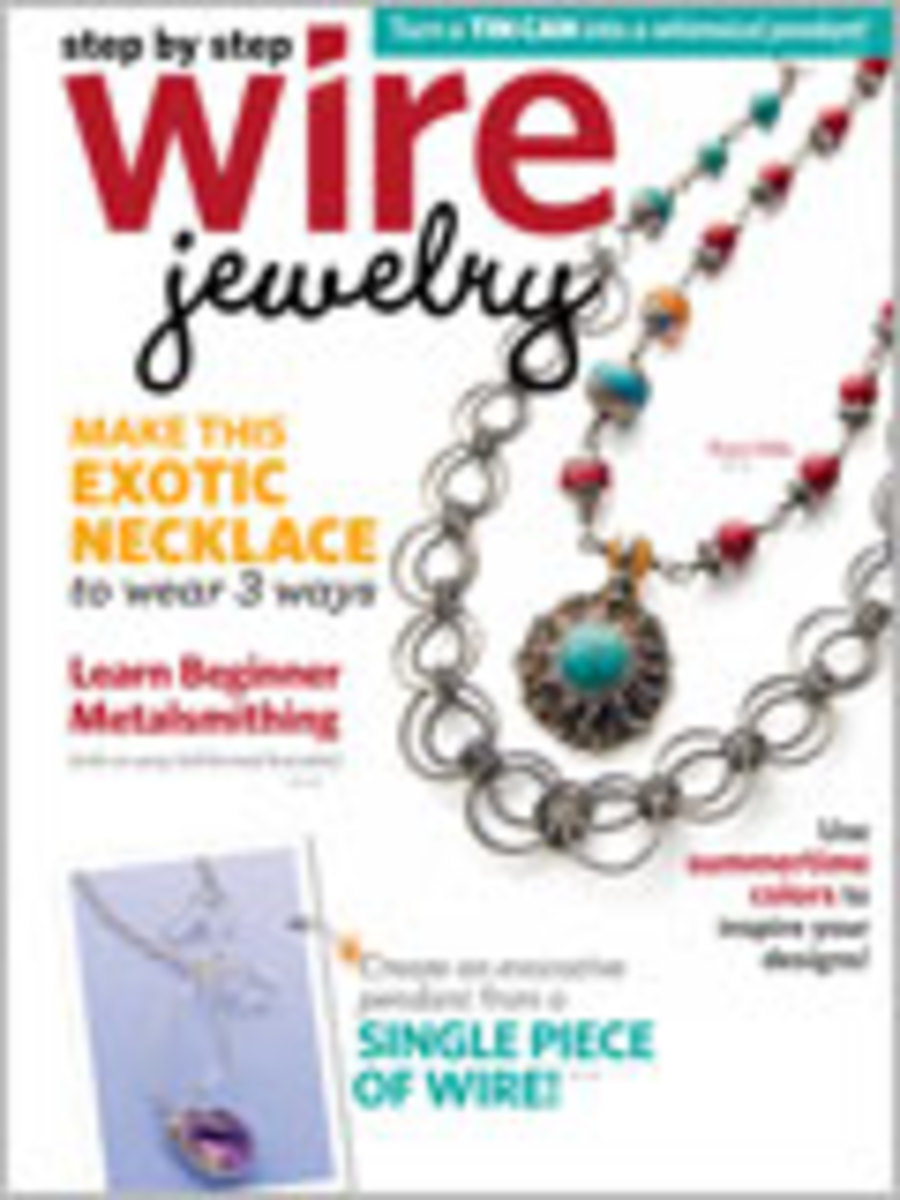 Step by Step Wire Jewelry Magazine 2012: August/September 2012
