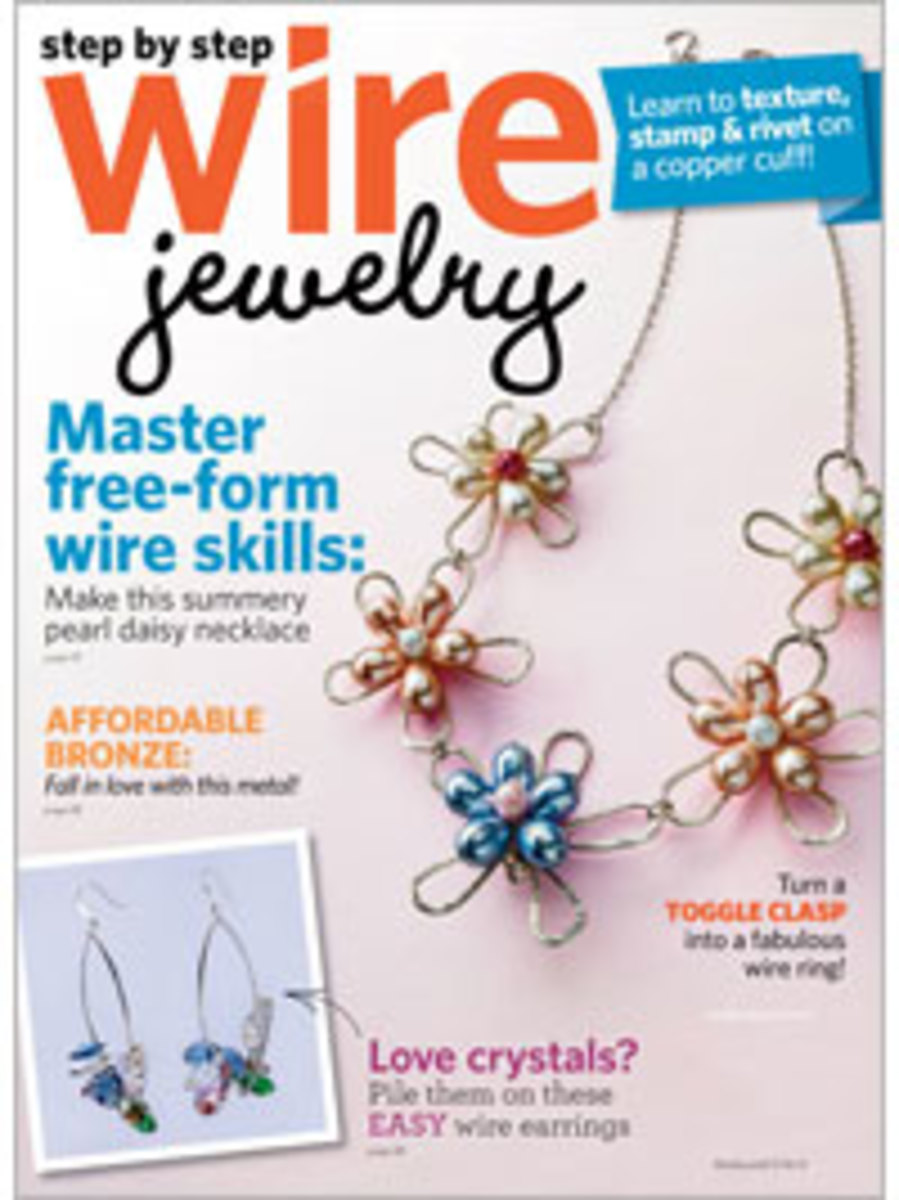 Step by Step Wire Jewelry Magazine 2012: June/July 2012