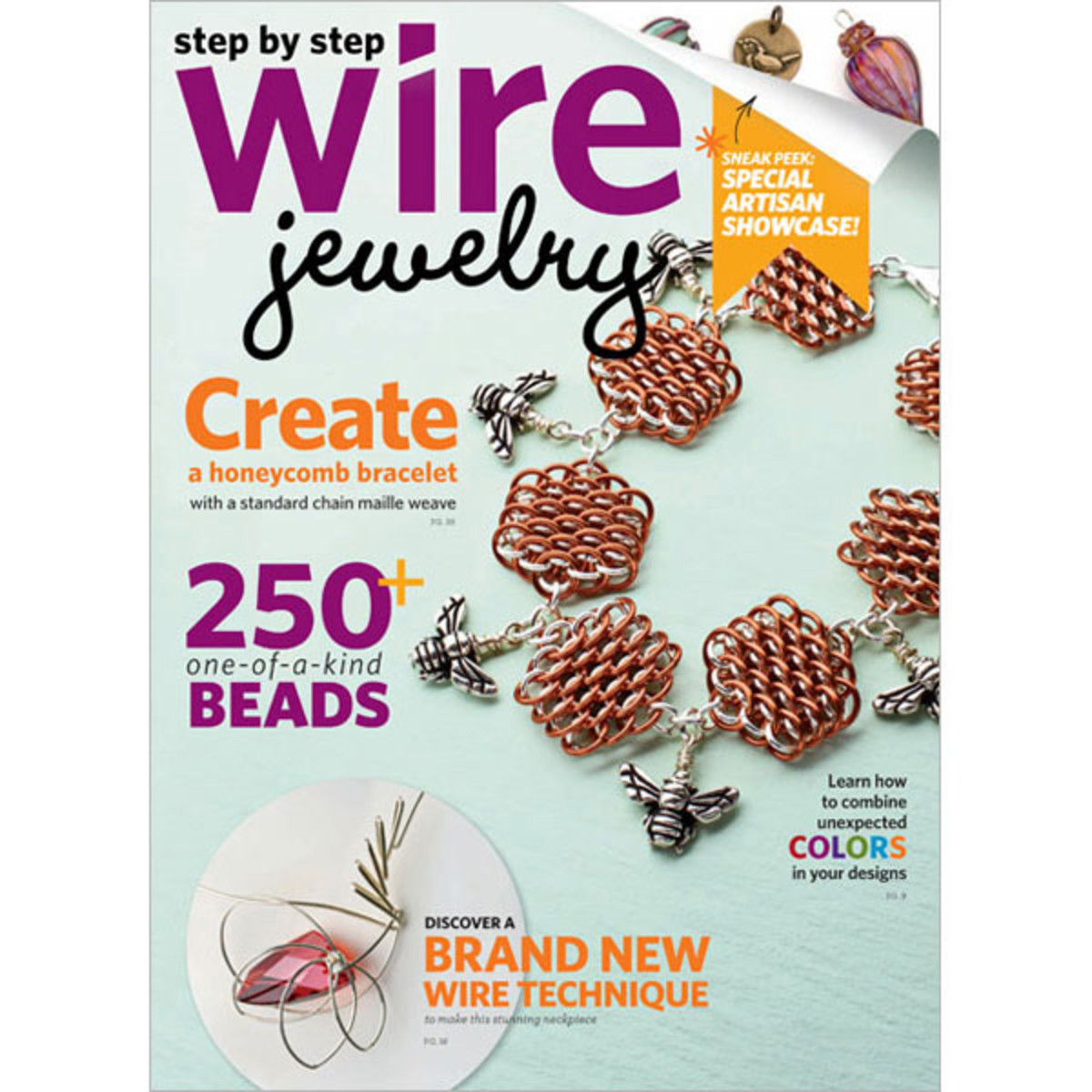 Step by Step Wire Jewelry Magazine 2012: April/May 2012