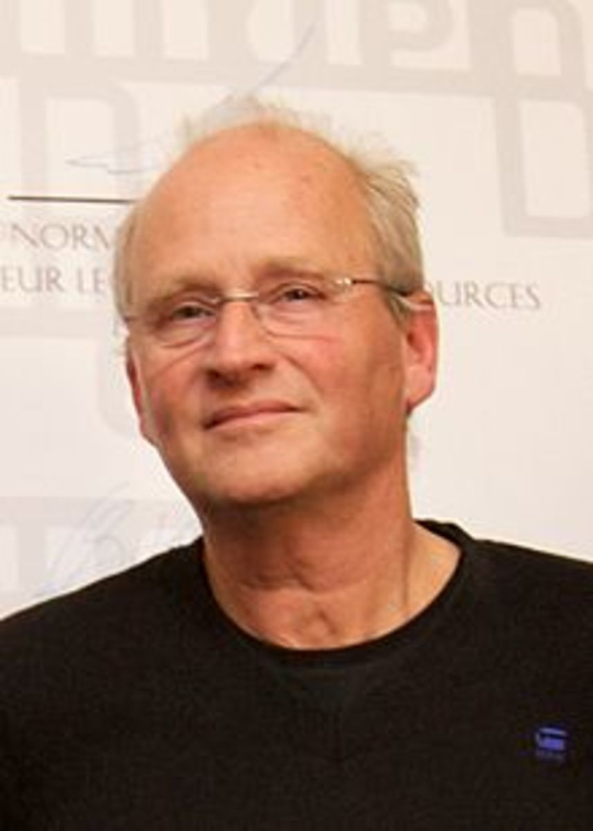 Dutch author, Herman Koch.
