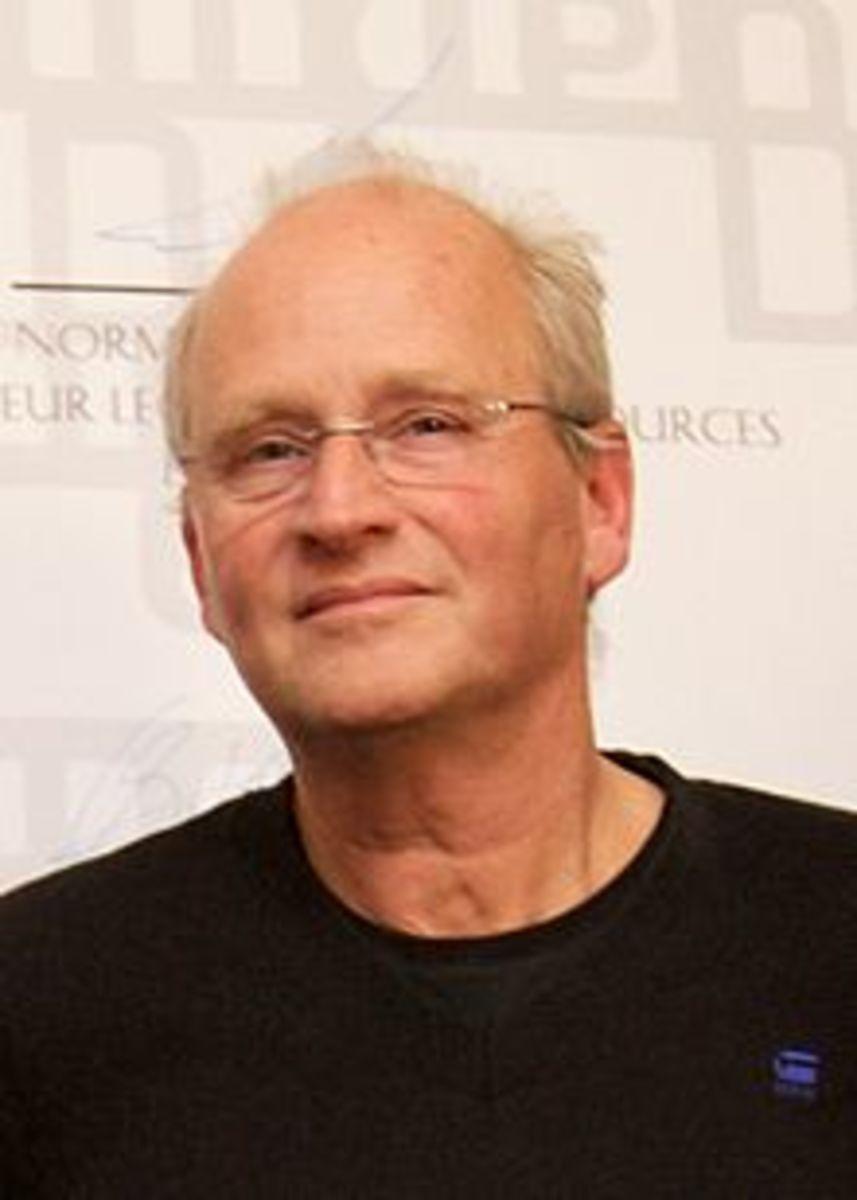 Dutch author, Herman Koch.