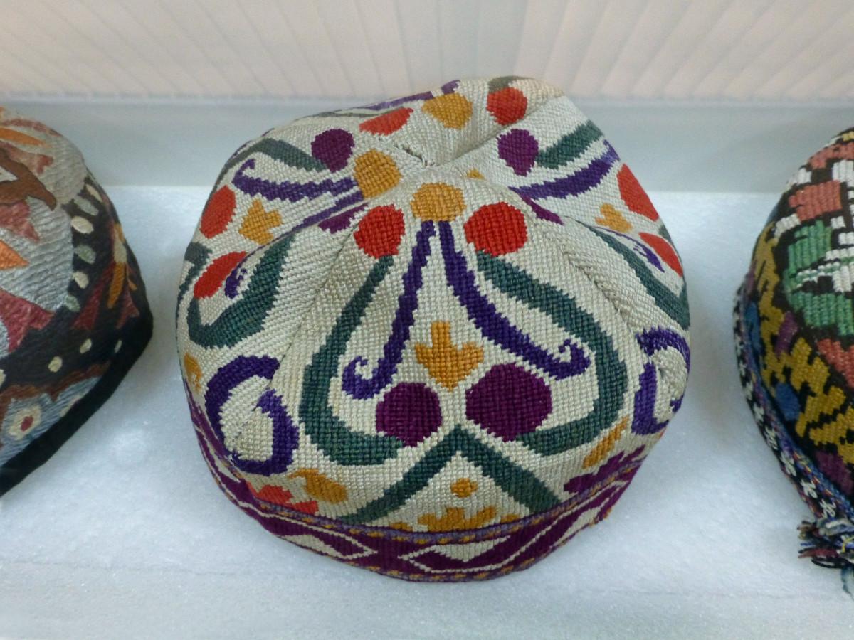 Woven skullcaps