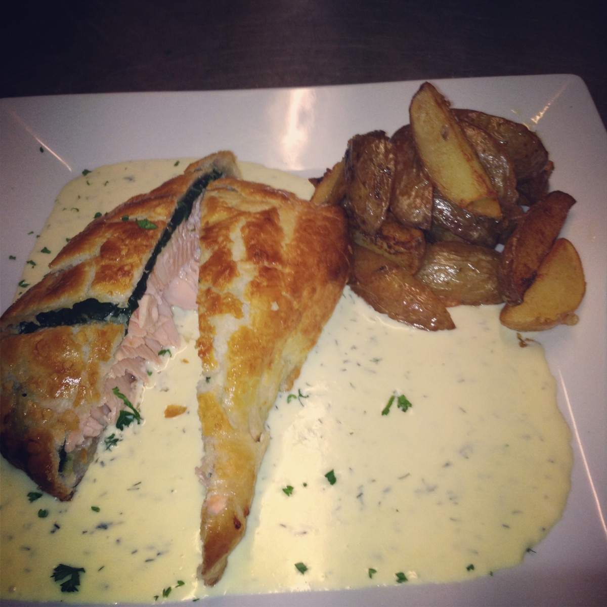 My Individual Salmon en Croute Recipe