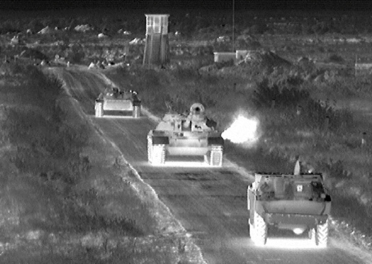 Image from an Infrared detector