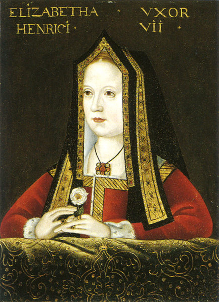 Henry VII's wife -- Elizabeth of York