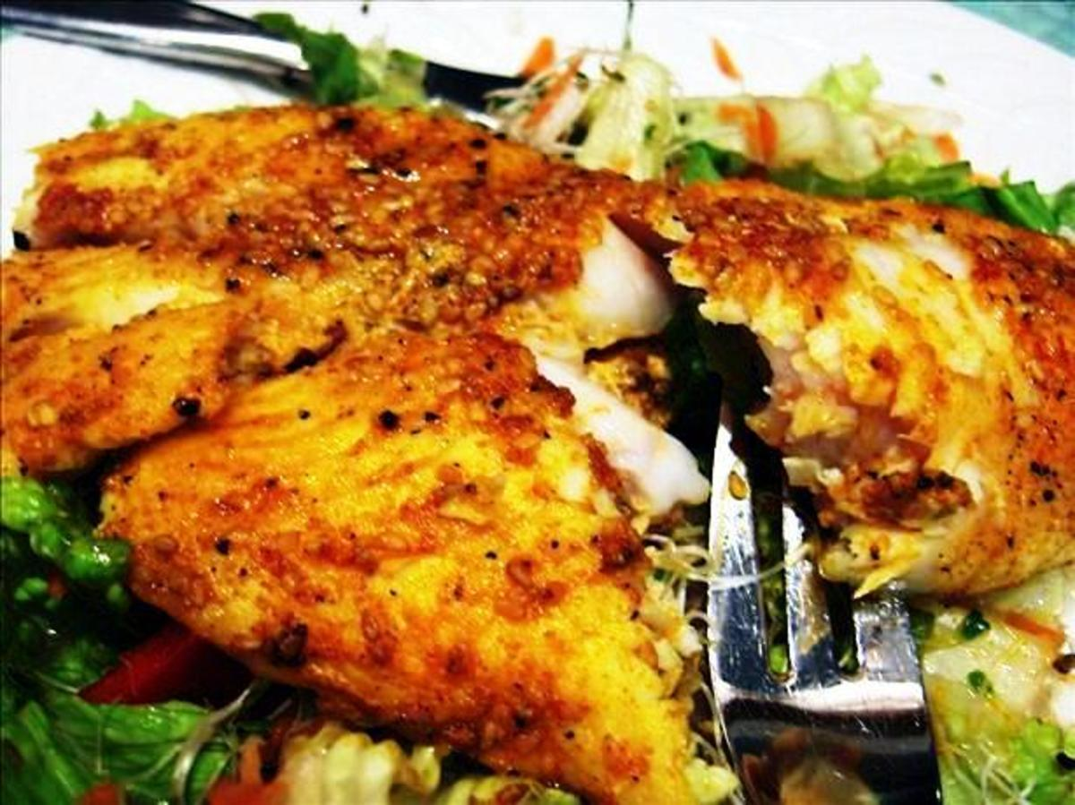 Mouth watering Indian Tandoori  Fish