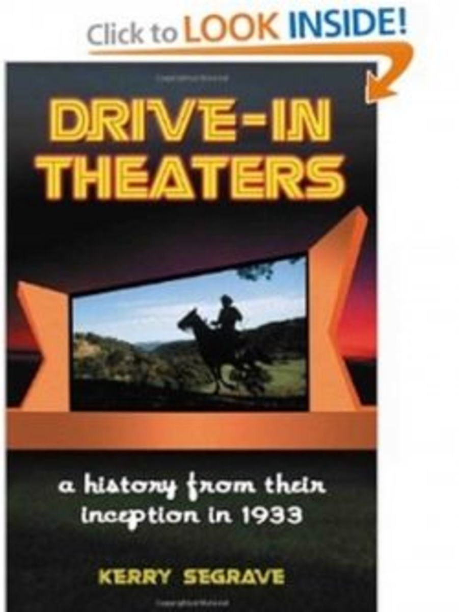 Drive-in Theaters: A History from Their Inception in 1933 [Paperback]