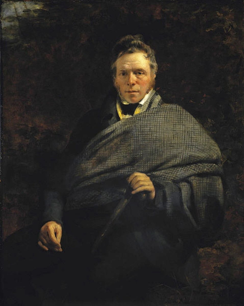 Portrait of James Hogg by Sir John Watson Gordon
