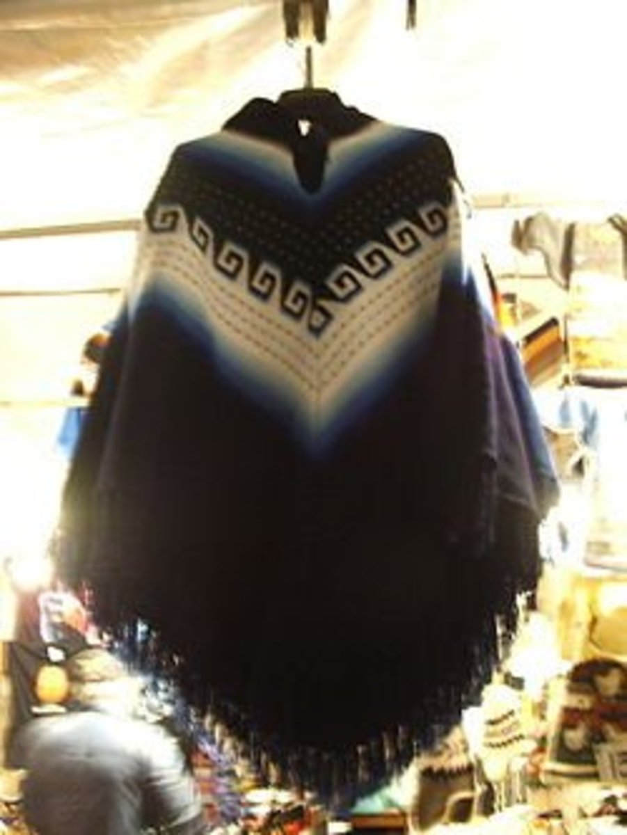 Knit Ponchos Free Patterns