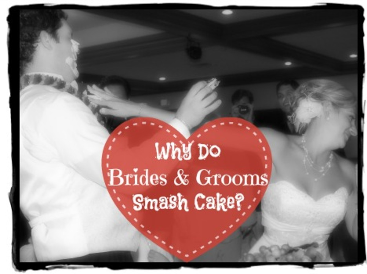 Why Do Brides and Grooms Smash Cake On Each Other?