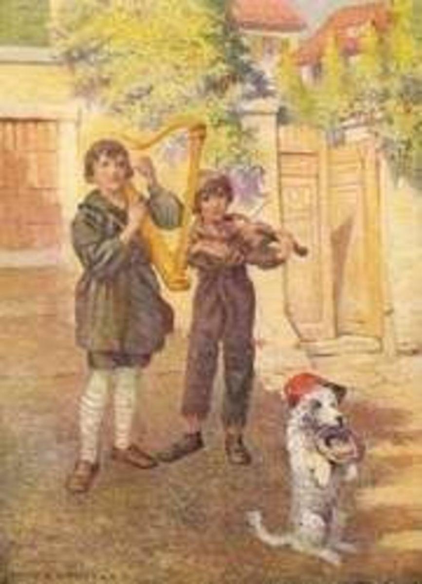 Illustration from Nobody's Boy