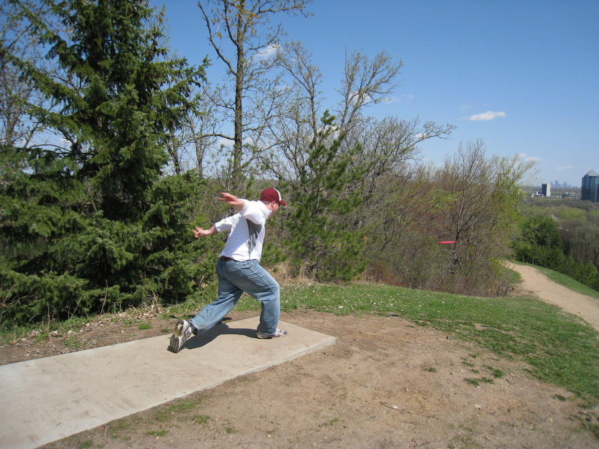 Disc Golf Is Great Exercise
