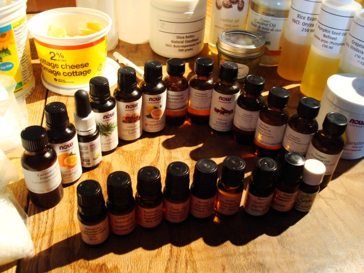 mixing different oils produces blends suitable for all skin types, ages and conditions.