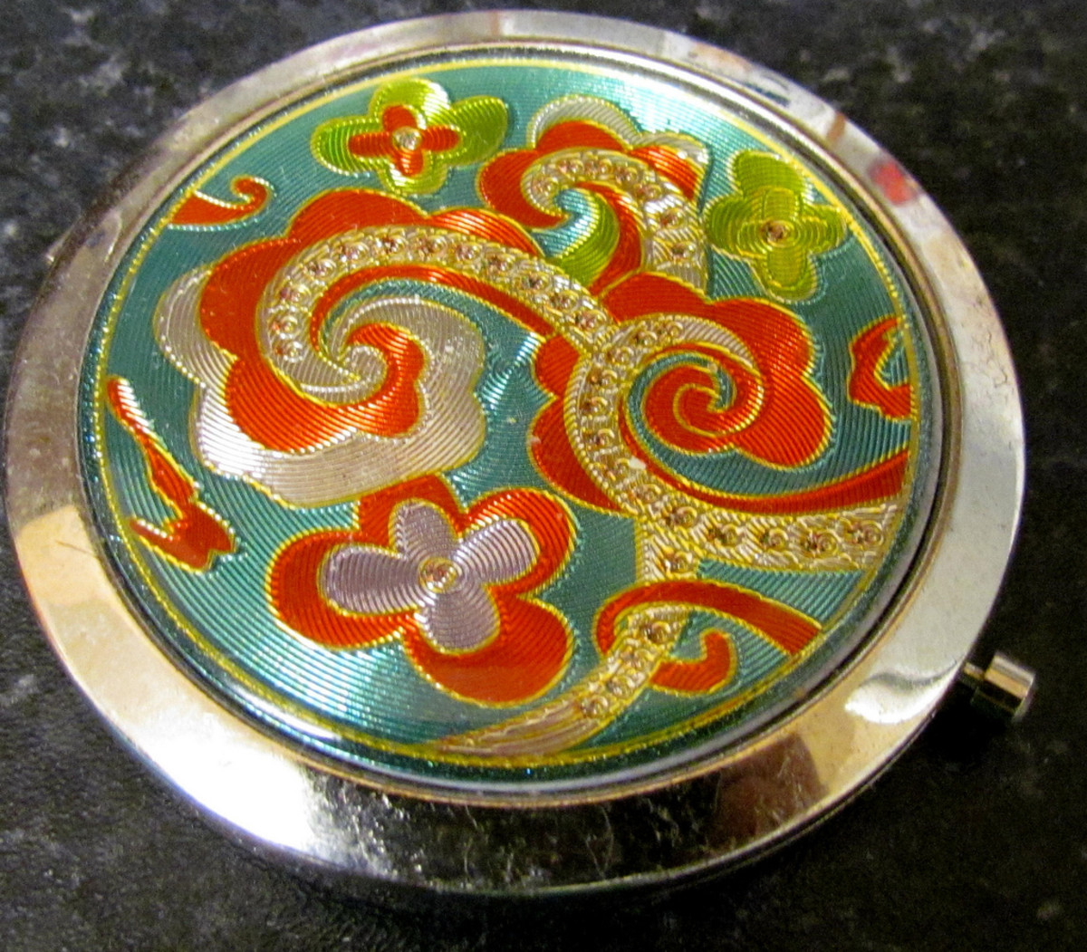 solid perfumes may be stored in a variety of containers.