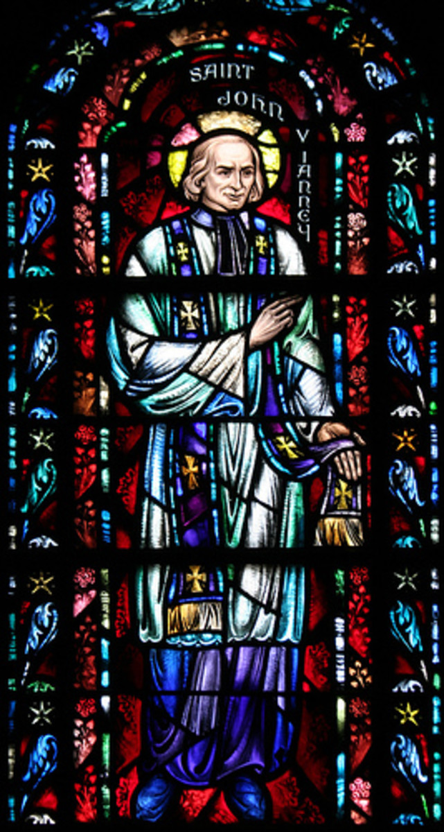 St. John Vianney is the patron saint of all Catholic priests.