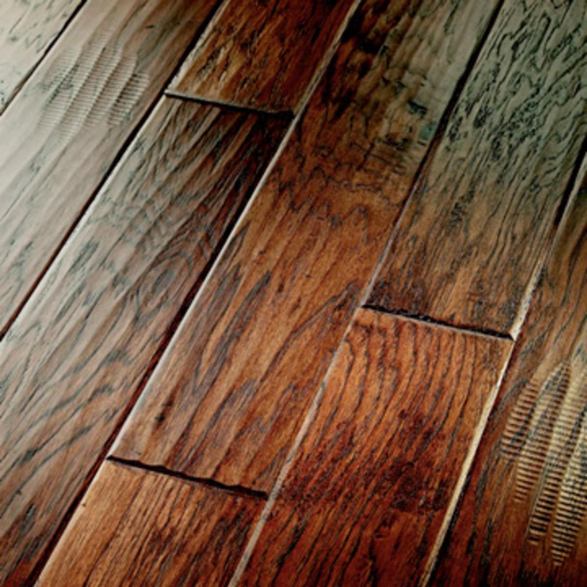 Wood tile: a hardwood substitute
