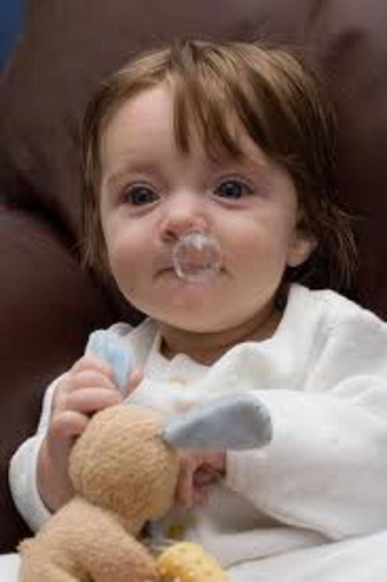 A Pituita (snot) bubble!
