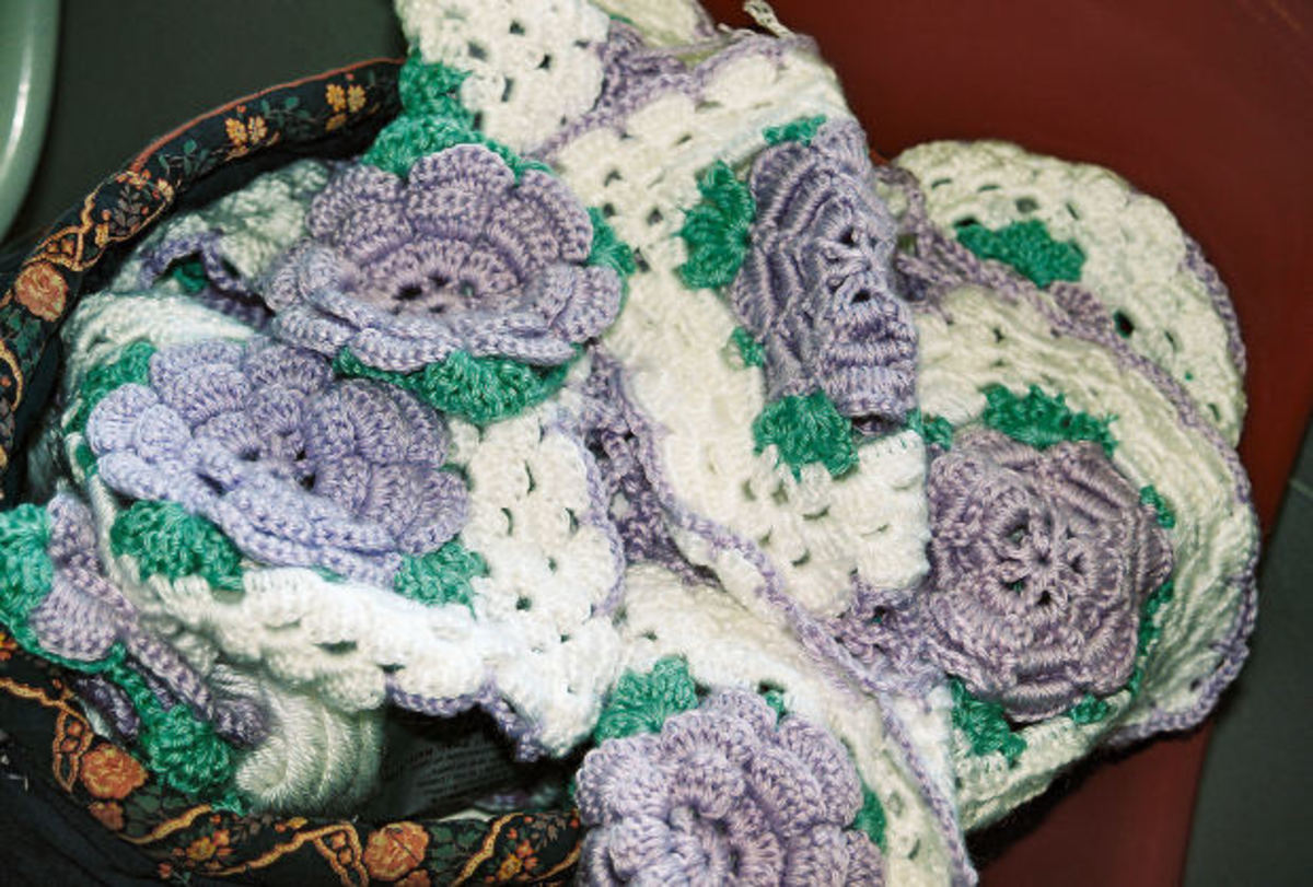 Free Crochet Rose Patterns