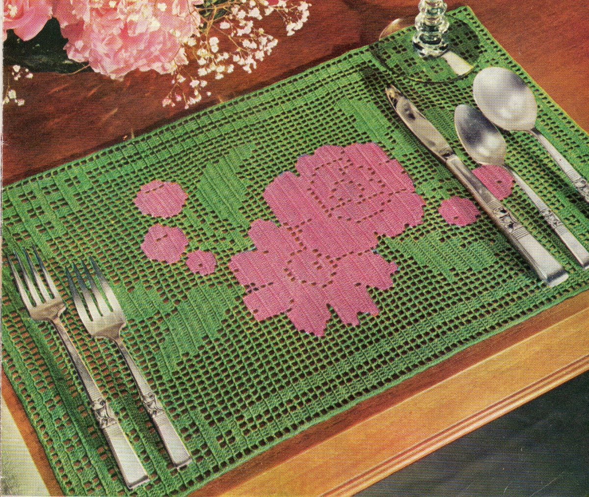 Rose Bouquet Placemat