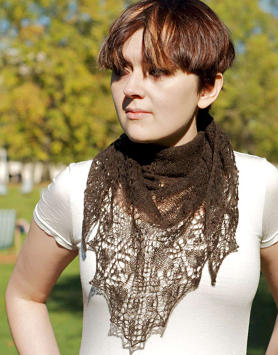 Knitting Shawls With Free Patterns