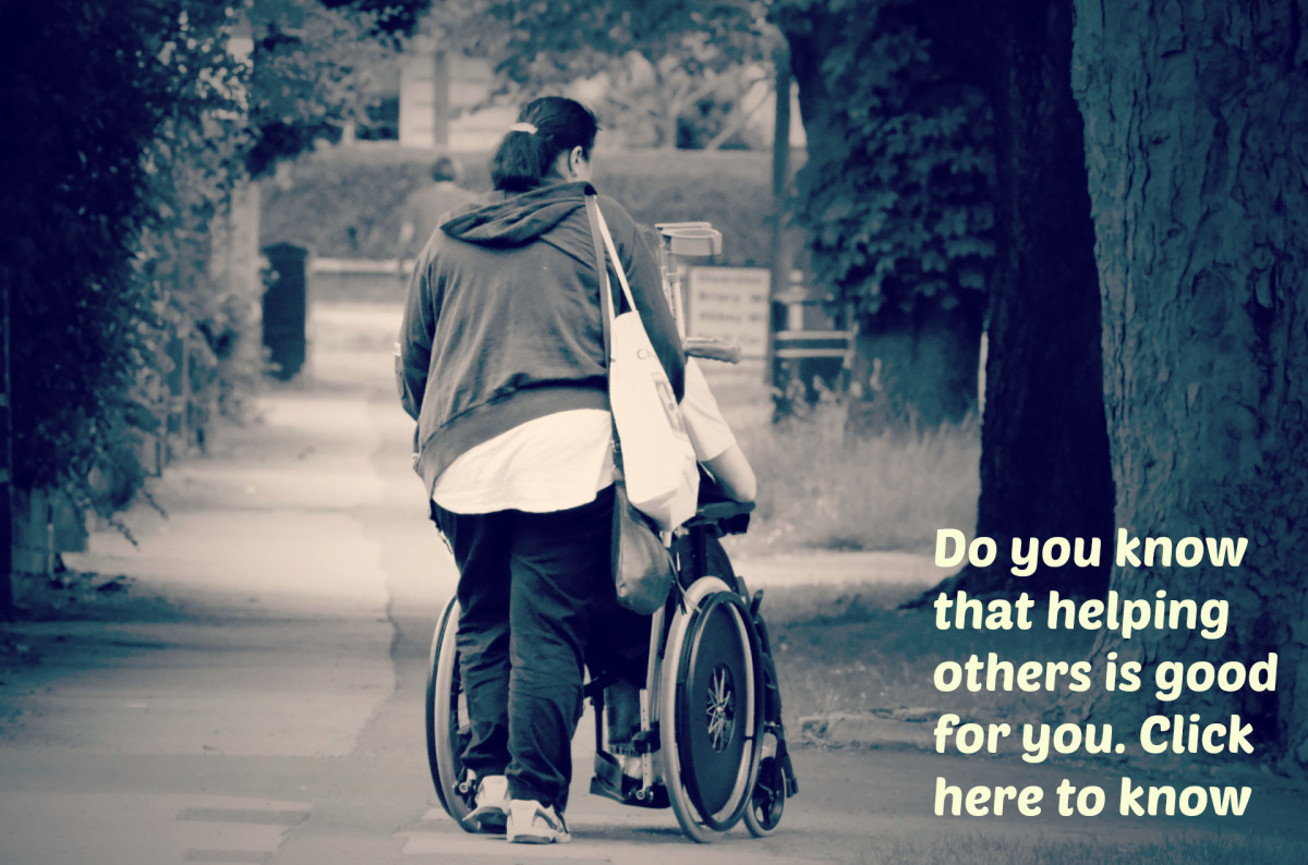 Why should we help others?