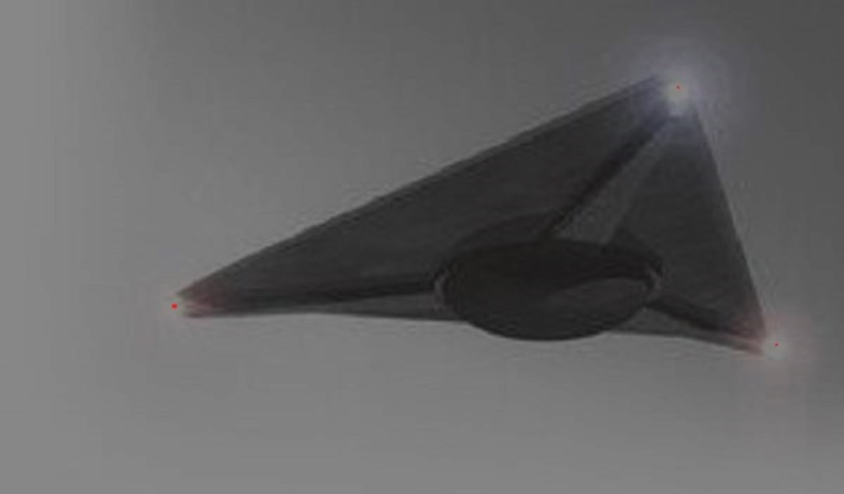 The triangle UFO is a common sight, but does that sight stop after seeing it does?