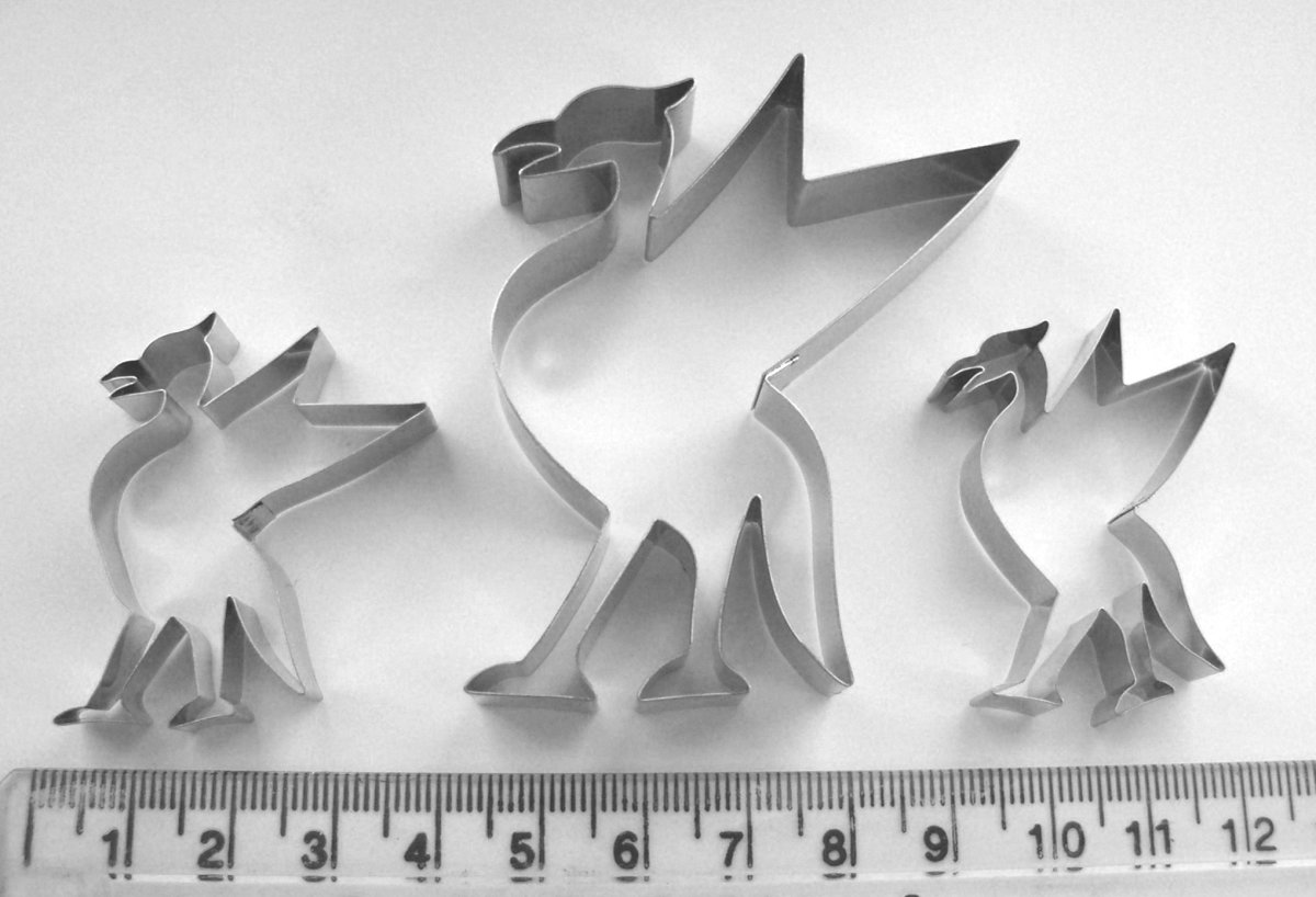 Cutters for Liver Bird shape