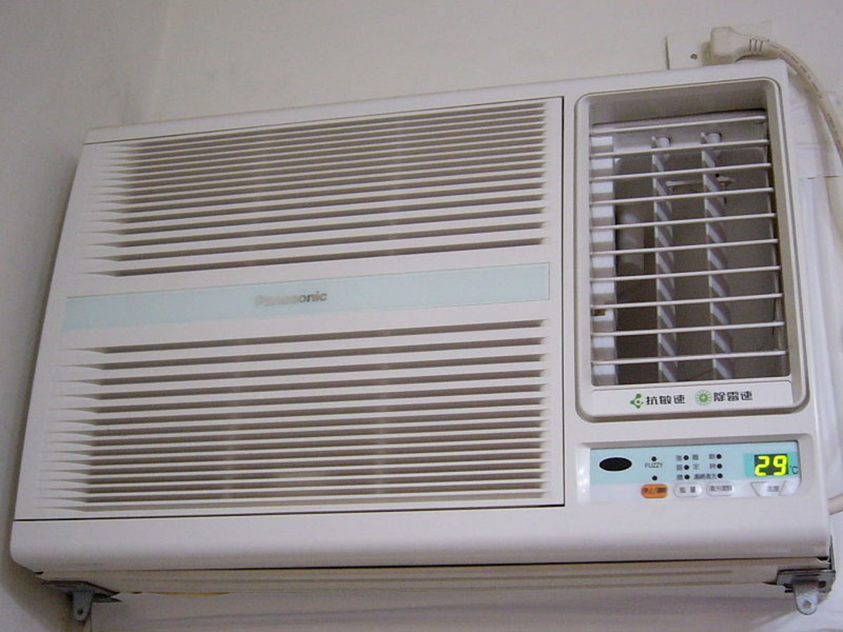 Benefits of through the wall air conditioner units for Window unit ac
