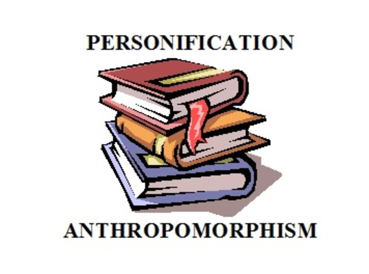 Personification Versus Anthropomorphism