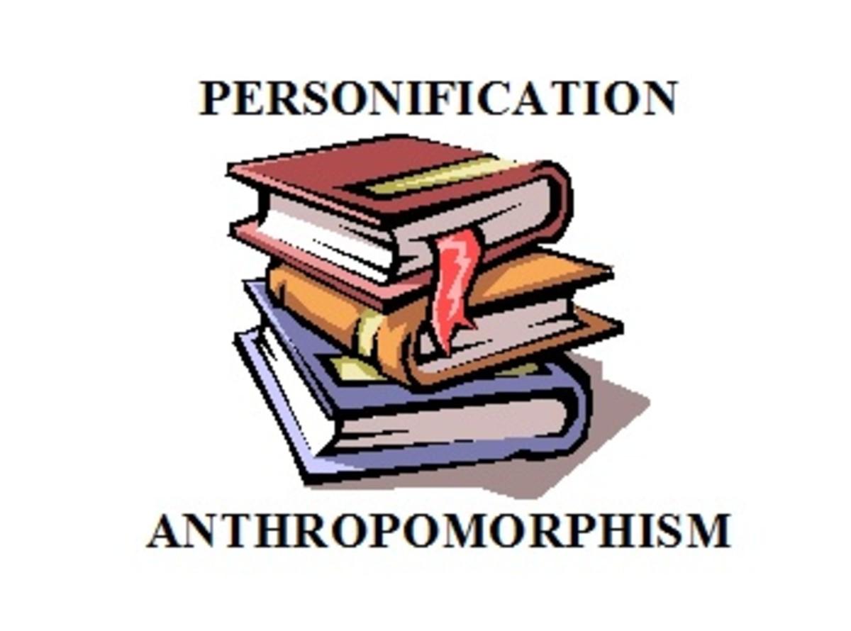 Personification Versus Anthropomorphism