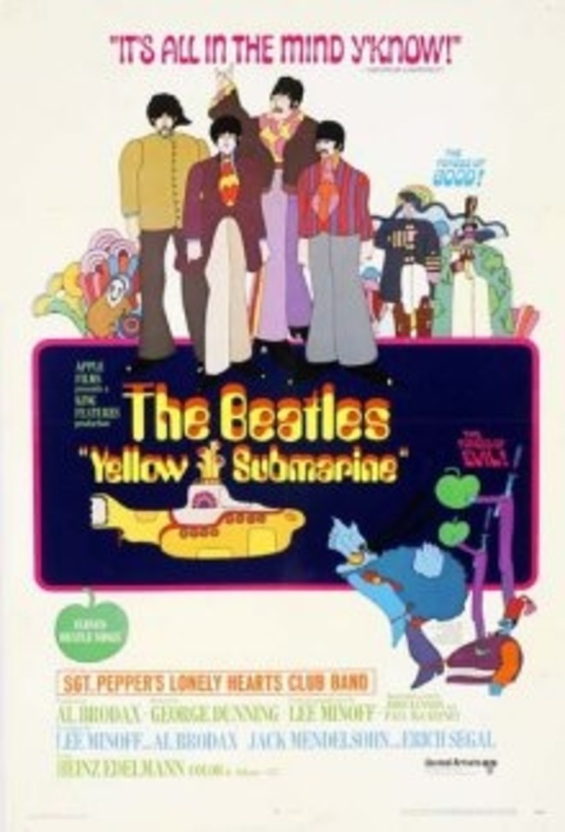 Here is the poster from Yellow Submarine