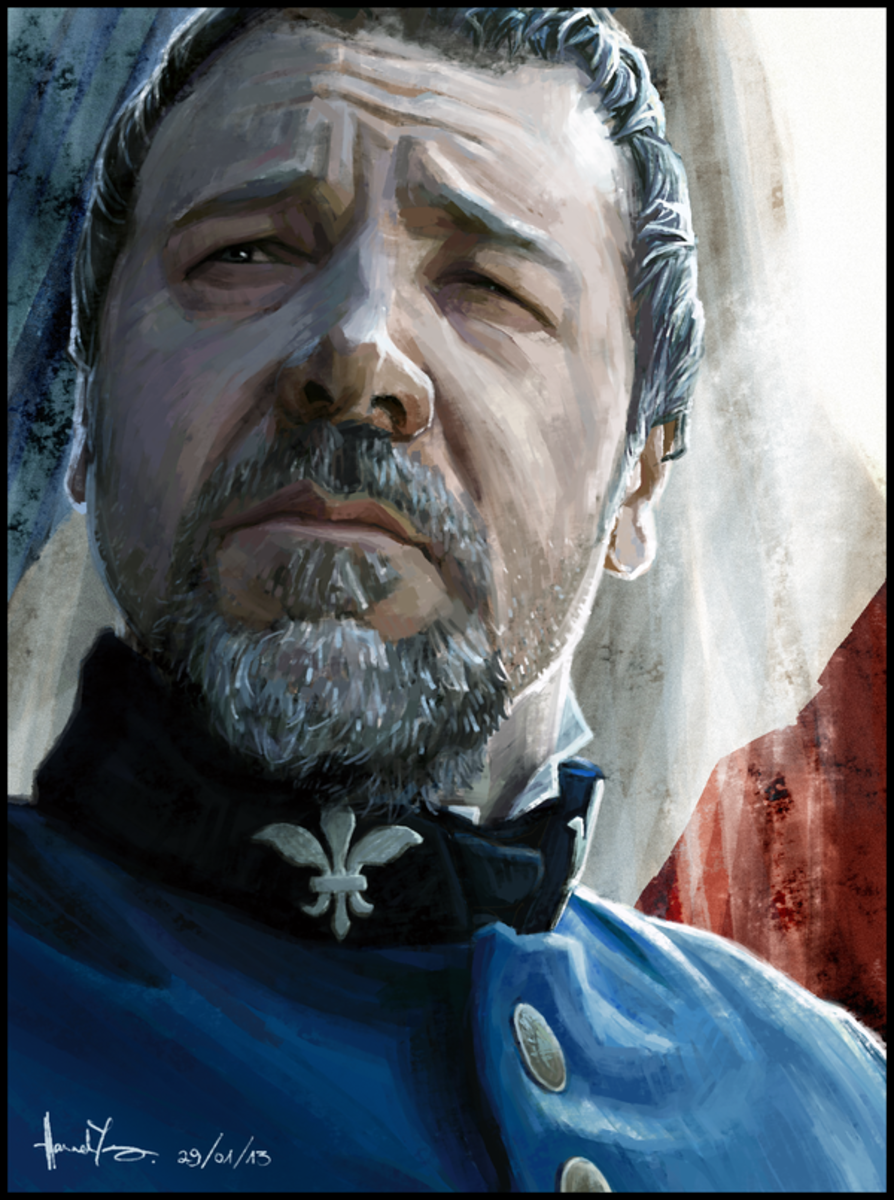 Russell Crowe's recent portrayal of Inspector Javert on the silver screen was as accurate as could be, encompassing the inner turmoil that defines this character in every scene.