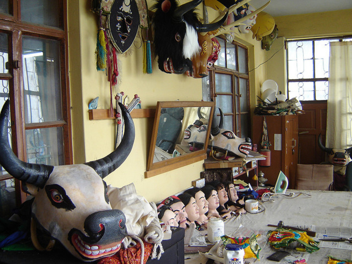 Tibetan Institute of Performing Arts in McLeod Ganj