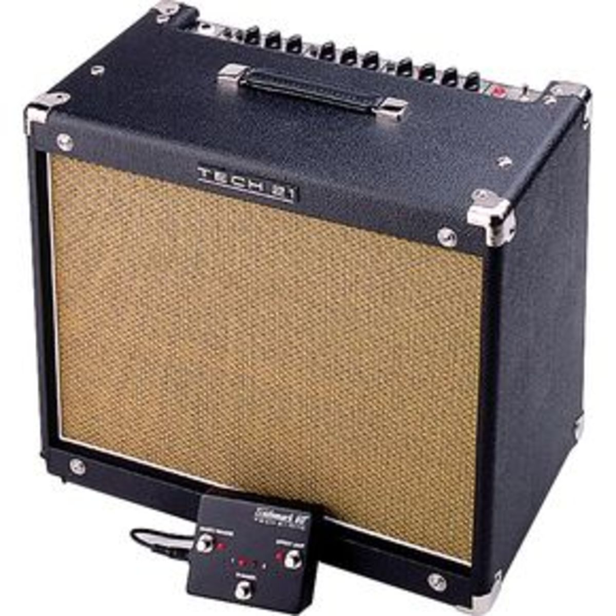 Tech 21's Trademark 60 is a solid state amplifier that utilizes analog modeling circuitry to create rich, warm tones.