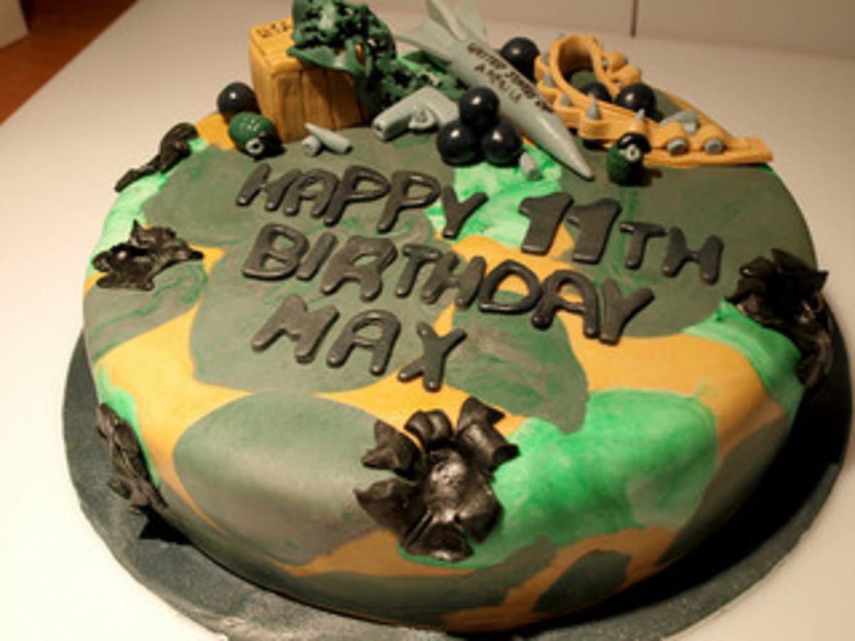 Call Of Duty Birthday Cake Decorations