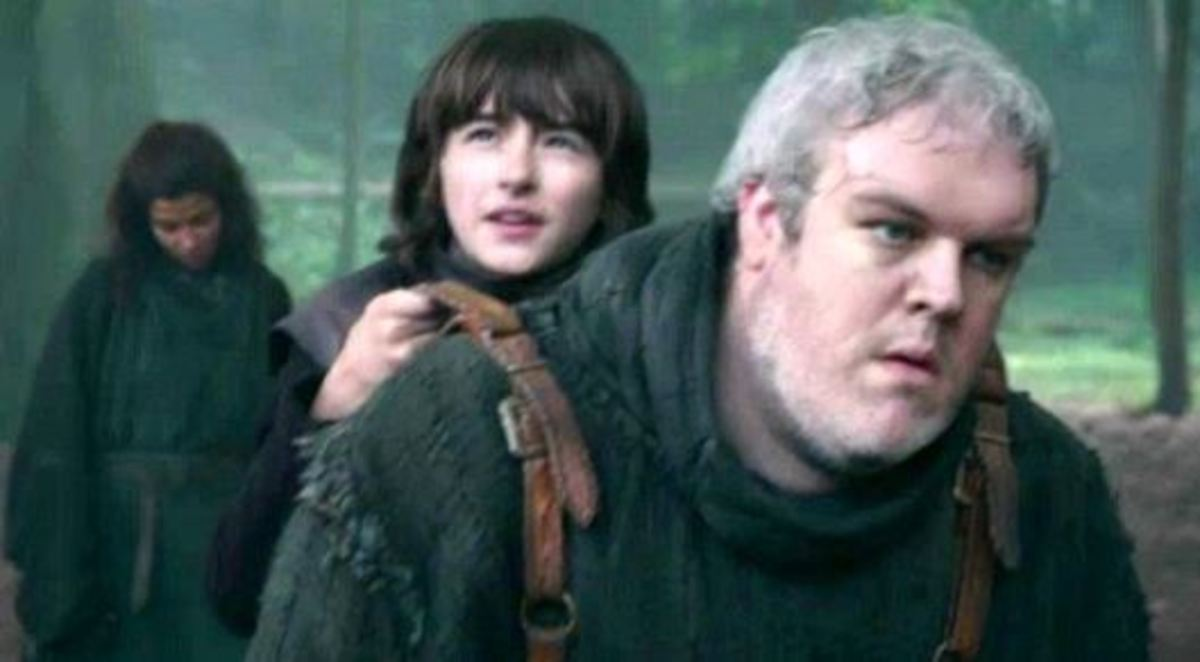 Loyal Winterfell servant Hodor became Bran's surrogate legs after his accident.