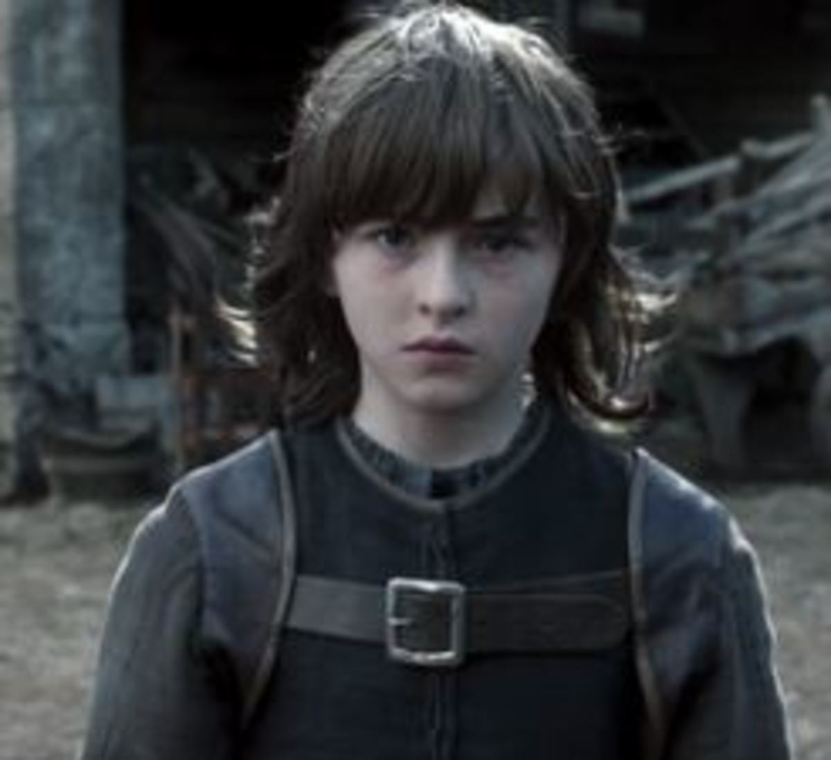 Bran Stark as portrayed by Isaac Hempstead-Wright in the TV version of Game of Thrones
