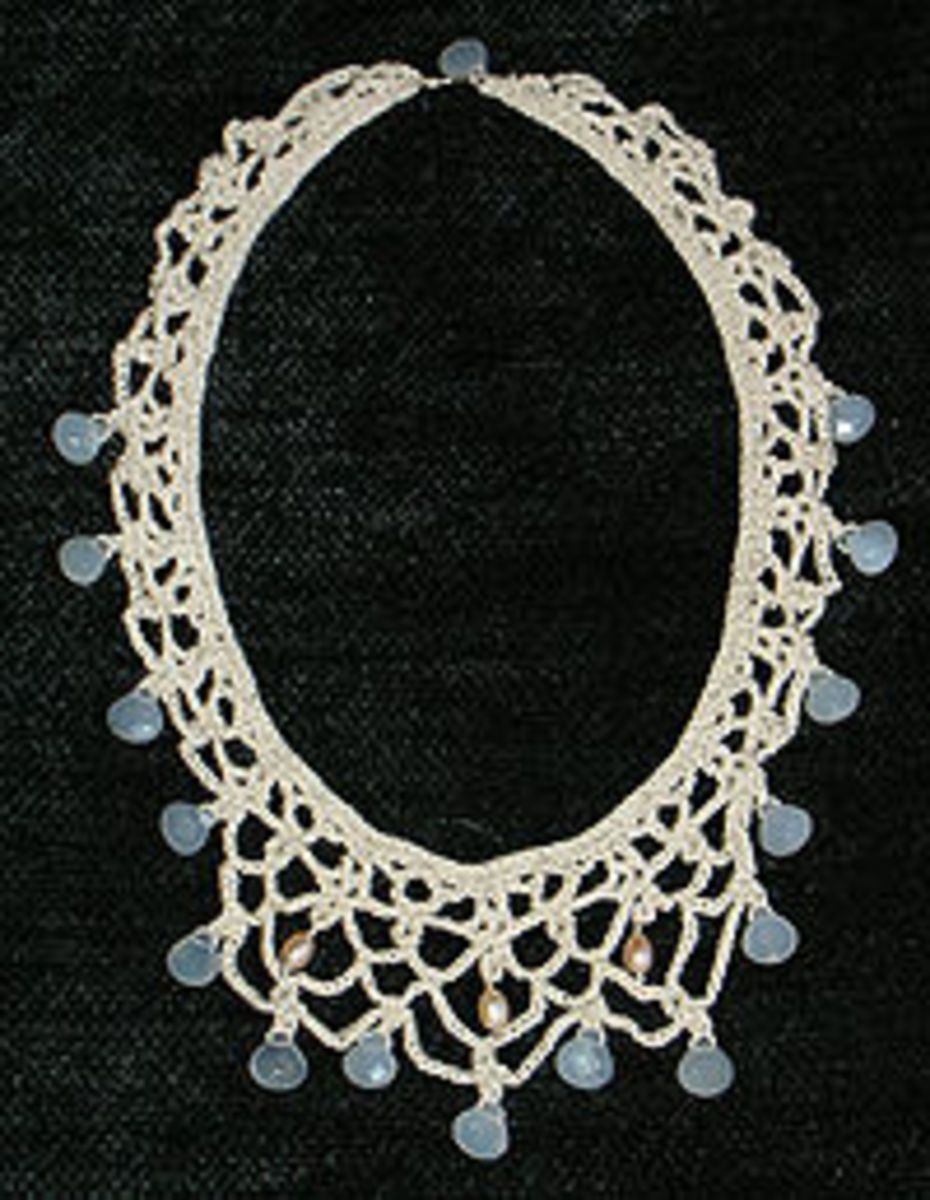 Knit and Crochet Jewelry Free Patterns