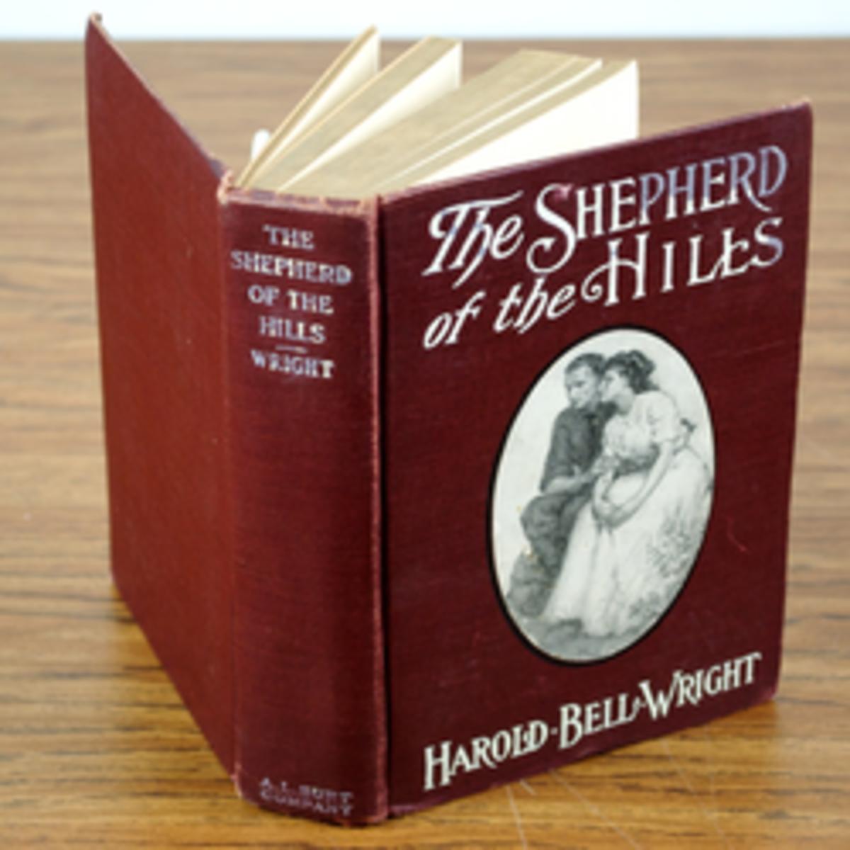 1907 Shepherd of the Hills Book