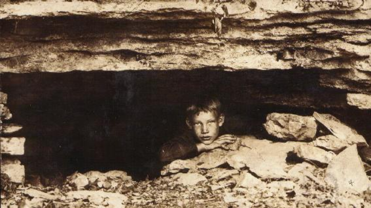 Pete in the Cave