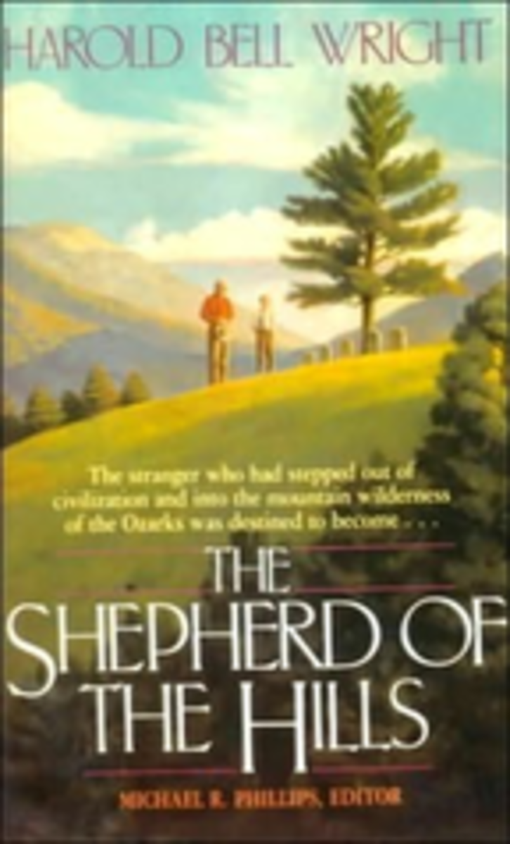 THE SHEPHERD OF THE HILLS BOOK