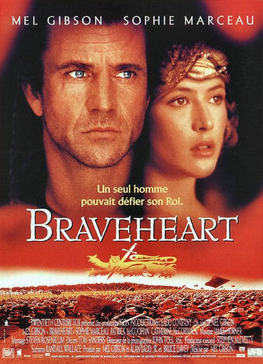 Braveheart (1995) French poster