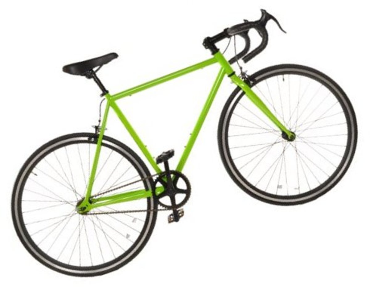 Track Fixed-Gear Bike Fixie Single Speed Road Bike