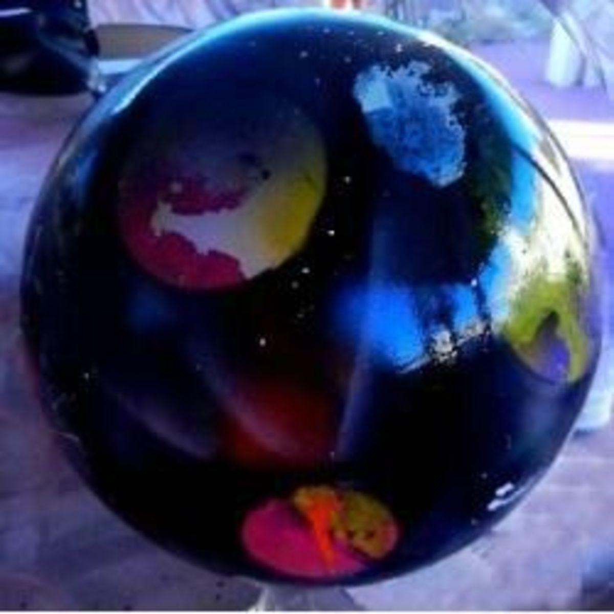 Gazing Ball Spray Paint