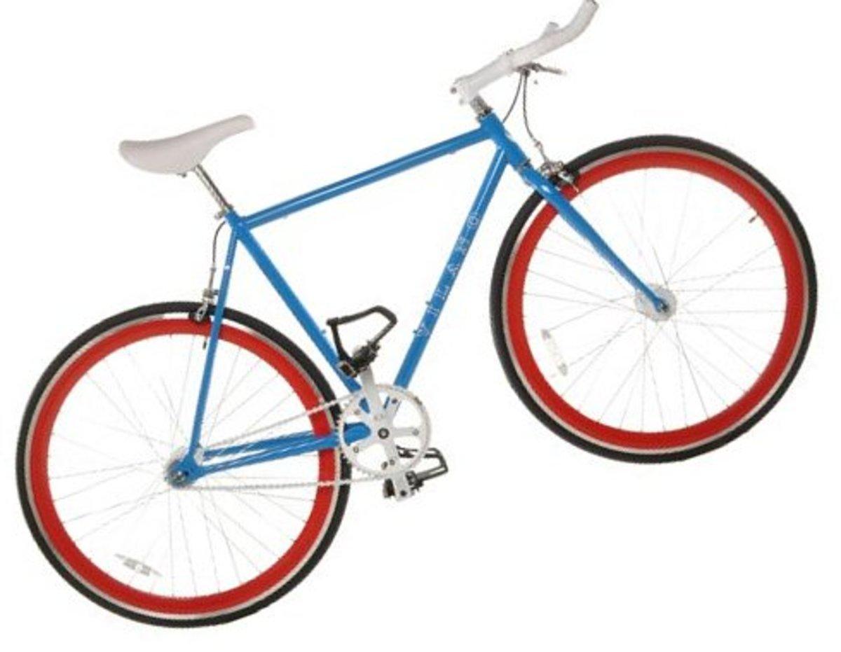 Vilano Chromoly Fixed-Gear Single Speed Road Bike