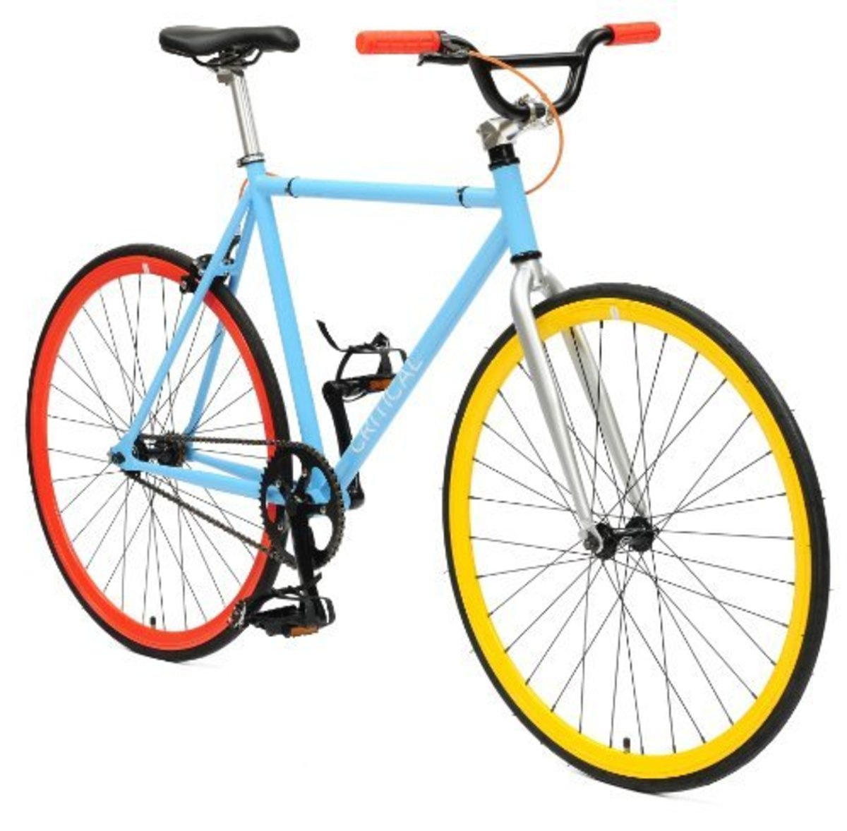 Critical Cycles Fixed-Gear Single Speed Fixie Urban Road Bike -  10 other color combinations to choose from