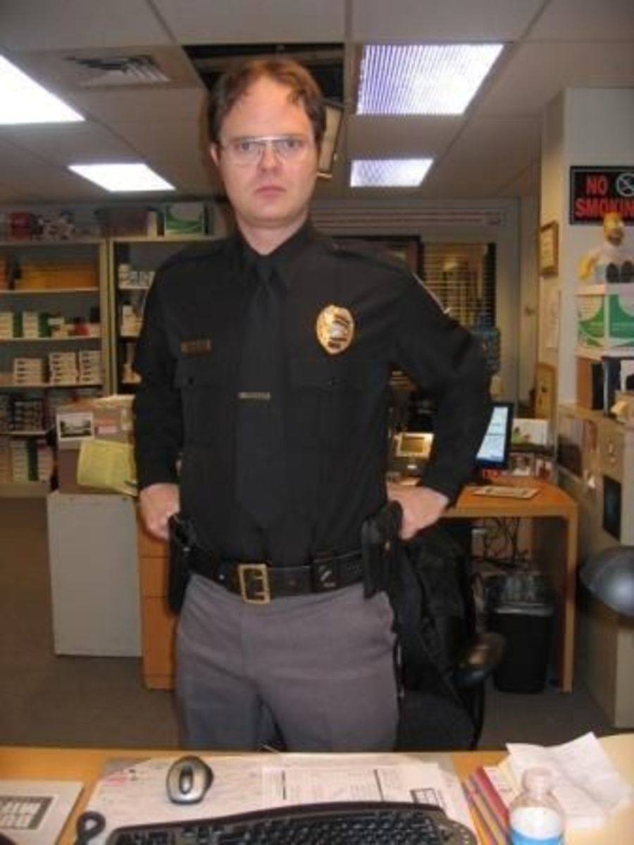 Rainn Wilson as Dwight on the Office is the funniest character on tv